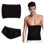 Black Men Waist Body Shaper Tummy Slimming Belt Underwear Personal Care