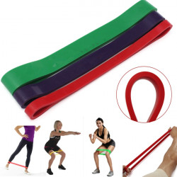 Crossfit Tension Resistance Band Exercise Loop Strength Training Fitness