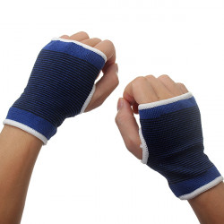 Elastic Palm Wrist Hand Support Glove Sport Gym Wrap Brace