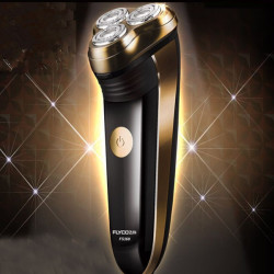 FLYCO FS360 Rechargeable Razor 220V Rotary 3D Electric Shaver