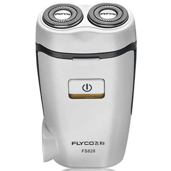FLYCO FS828 220V Rechargeable Electric Shaver Floating Rotary Razor 2021