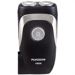 FLYCO FS830 220V Rechargeable Electric Shaver Floating Rotary Razor