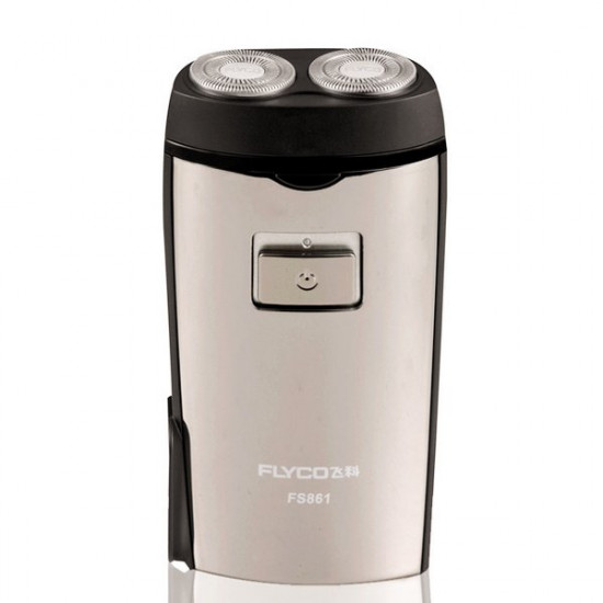 FLYCO Razor FS861 Built-in Plug Double Heads Electric Shaver 2021