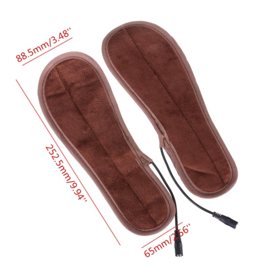 Foot Warmer Pad Rechargeable Electric Heated Insoles