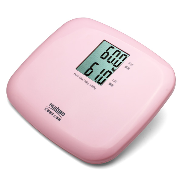 LCD Display Digital Electronic Body Weight Scales Twice Data Record Personal Care
