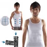 Men's Belly Fatty Slimming Body Shaper Vest Shirt Corset Underwear Personal Care