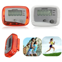 Mini Digital LCD Run Step Pedometer Walking Distance Calorie Counter