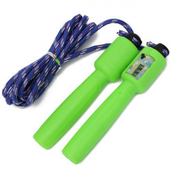 Nylon Skipping Rope Automatic Counting Weighted Fitness Jumping