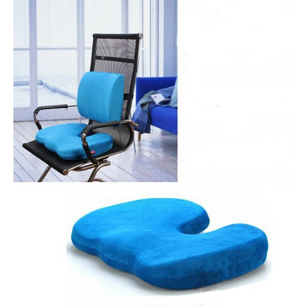 Orthopedics Seat Solution Cushion Memory Foam Back Ache Release Personal Care