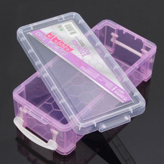 Plastic Cosmetic Nail Art Pill Storage Organizer Container Case Box 2021