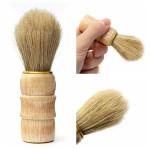 Professional Barber Salon Wood Handle Shaving Brush Tool Shavers & Hair Removal