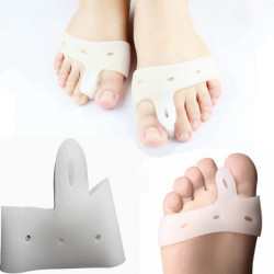 Silica Gel Toe Straighteners Corrector Protectors Feet Care