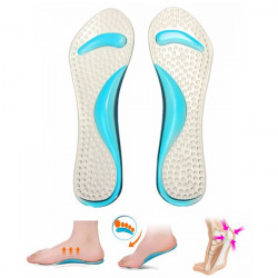 Silicone Massaging Heel Insole Anti Pain Reduce Foot Fatigue