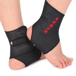 Tourmaline Magnetic Therapy Foot Ankle Massage Belt Pad