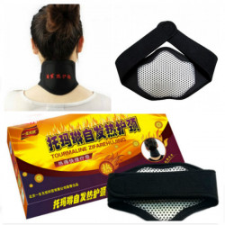 Tourmaline Self-Heating Nano Magnetic Neck Support Protector