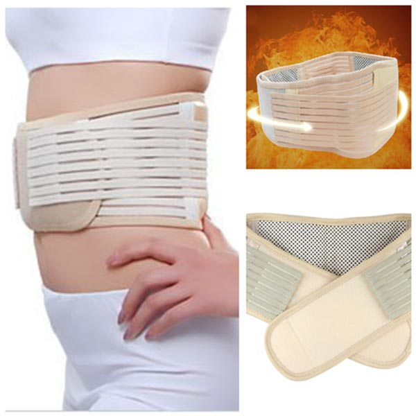Tourmaline Spontaneous Heating Magnetic Therapy Waist Belt Fitness & Body Building