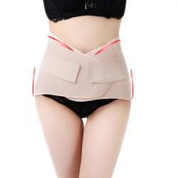 Women Breathable Postpartum Staylace Body Shaping Cummerbund Belt