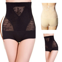 Women High Waist Slimming Corset Postpartum Abdomen Underwear Pants