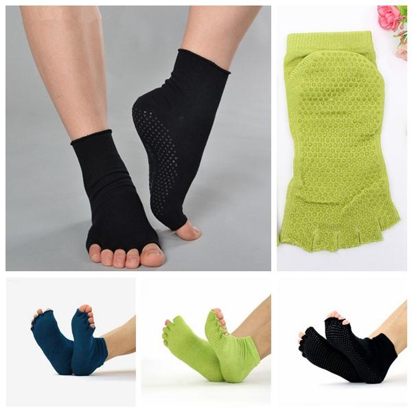 Yoga Socks Cotton Sports Exercise Pilates Massage Sock Personal Care
