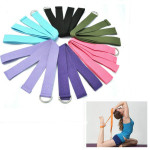 Yoga Stretch Strap D-Ring Belt Stretching Band Personal Care