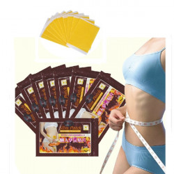 10Pcs Slim Patch Slimming Navel Weight Loss Burning Fat Detox Stick