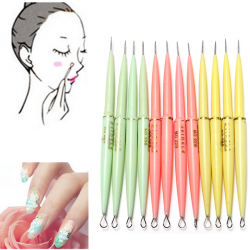 12Pcs Pro Blackhead Acne Remover Nail Art Carving Needle