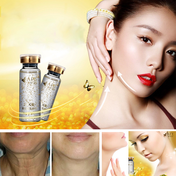 AFY 24K Gold Revive Neck Essence Oil Anti-wrinkle Moisturizing Skin Care