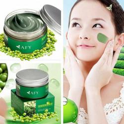 AFY Mung Bean Facial Mask Shrink Pores Whitening Oil Control