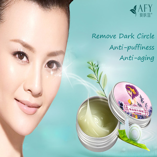 AFY Snail Eye Cream Rmove Dark Circle Anti Puffiness Moisturizing Skin Care