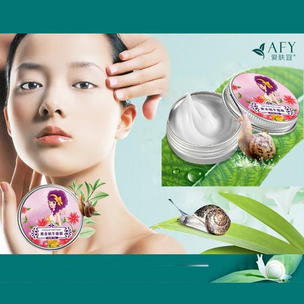 AFY Snail Face Cream Whitening Moisturizing Anti Wrinkle Facial Cream Skin Care