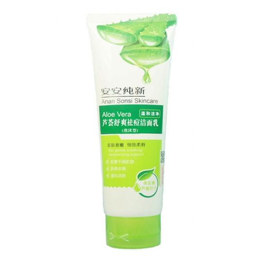 Anan Sonsi Aloe Vera Facial Cleanser Deep Cleaning Moisturizing 2021