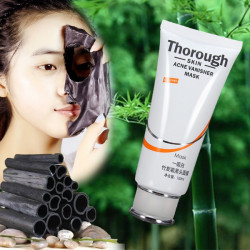 Bamboo Charcoal Facial Mask Blackhead Acne Cleansing Remover
