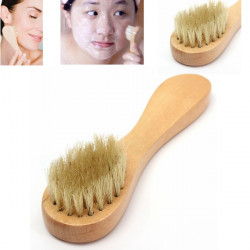 Bristle Facial Cleansing Cleanser Brush Face Scrub Exfoliating