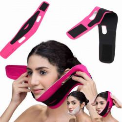 Chin Cheek Slim Lift Up V Mask Belt Face Slimming Strap Band