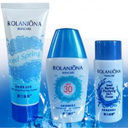 ROLANJONA Moisturizing Cleanser Skin Toner Sunscreen Emulsion Suits