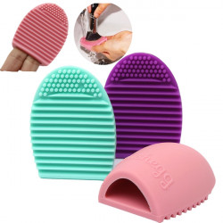 Silicone Makeup Cosmetic Brush Foundation Cleaning Cleaner Glove