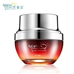 Sucui Red Ginseng Snail Eye Cream Anti Wrinkle Dark Circle Puffiness