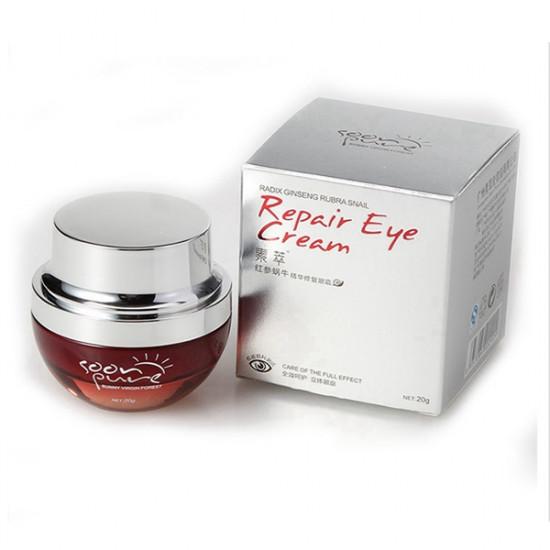 Sucui Red Ginseng Snail Eye Cream Anti Wrinkle Dark Circle Puffiness 2021