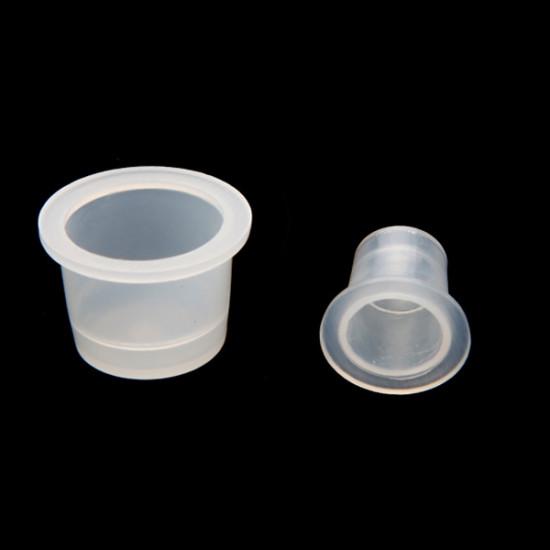100 Plastic Tattoo Ink Cups Supplies Machine Kits 2021