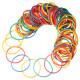 100pcs Multicolor Rubber Elastic Bands for Tattoo Machine Gun 2021