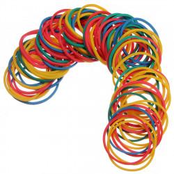 100pcs Multicolor Rubber Elastic Bands for Tattoo Machine Gun