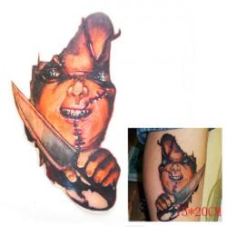 3D Ghost Waterproof Temporary Transfer Tattoo Sticker