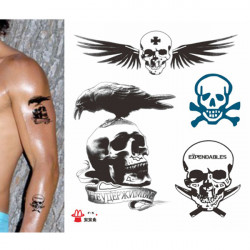 Expendables Waterproof Temporary Tattoo Stickers Body Tattoo Stickers