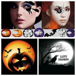 Halloween Eye Shadow Decoration Water Transfer Tattoo Sticker