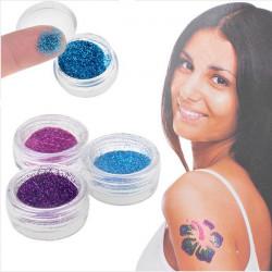 Shimmer Glitter Tattoos Body Art Powder Tattoo Stickers