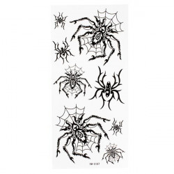 Spider Totem Design Insect Waterproof Temporary Tattoo Sticker Paper