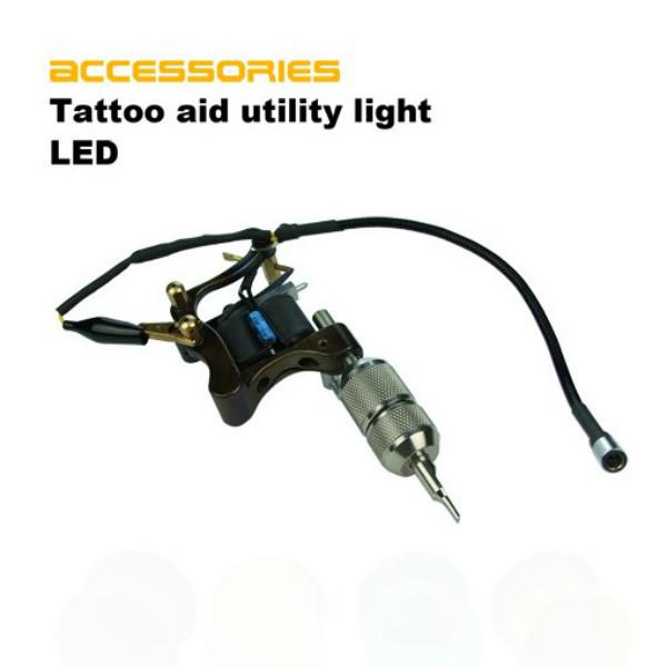 Tattoo Machine Auxiliary LED Lamp Light Aid Accessories