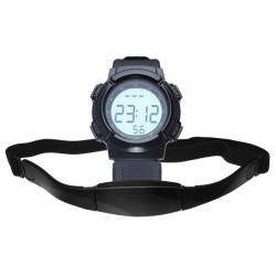 CS-008 Gym Heart Rate Sport Pedometer Hiking Men Women Wrist Watch