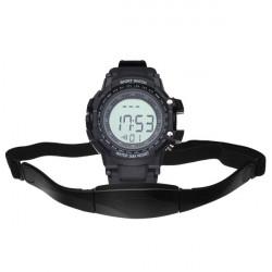 CS-010 Gym Heart Rate Sport Pedometer Hiking Men Women Wrist Watch
