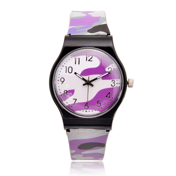 Camouflage Military Five Colors Live Waterproof Quartz Watch Gym & Hiking Watch